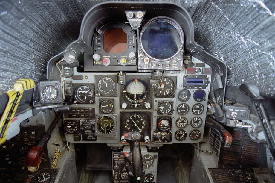 McDonnell Douglas RF-4C cockpit. Photo: U.S. Air Force