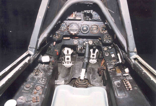Focke-Wulf Fw 190D-9 cockpit. Photo: U.S. Air Force