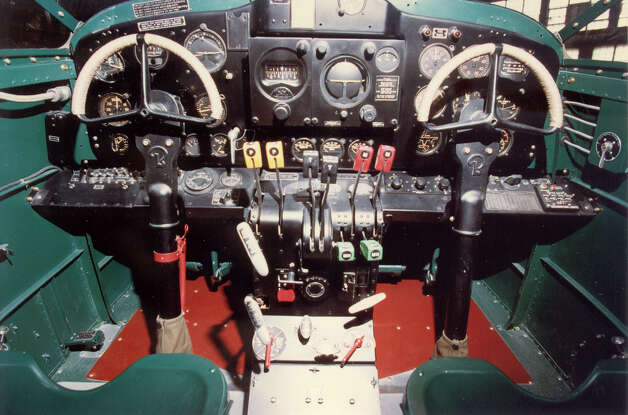 Beech AT-10 cockpit. Photo: U.S. Air Force