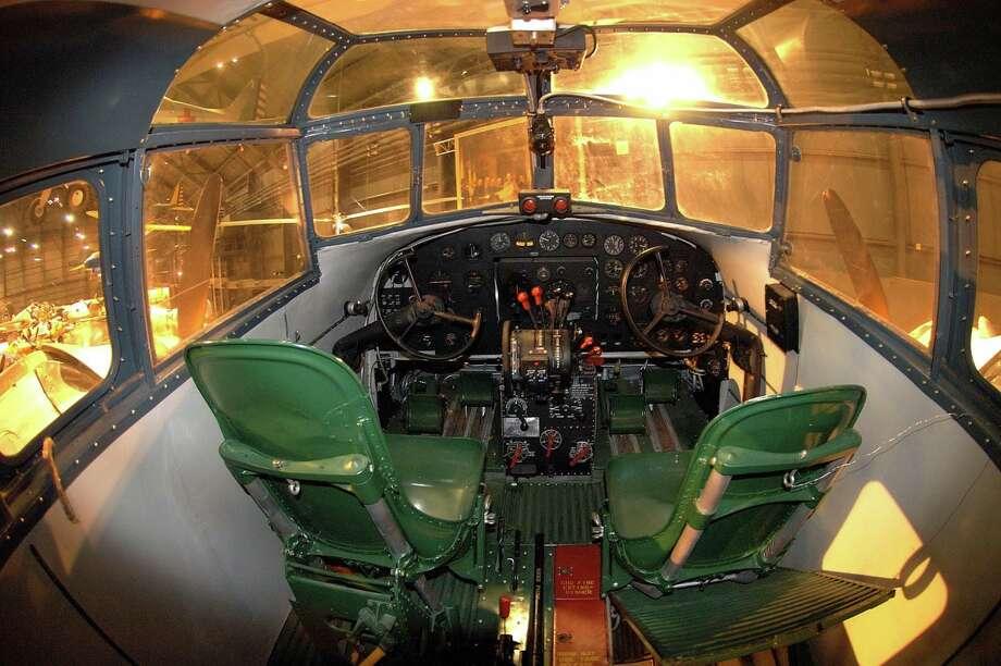 Douglas B-18 cockpit. Photo: U.S. Air Force