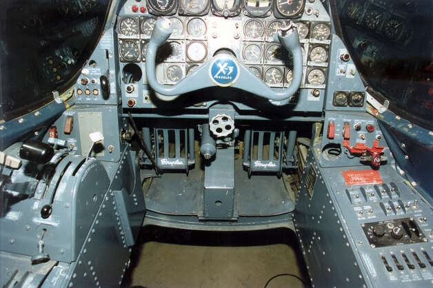 Douglas X-3 cockpit. Photo: U.S. Air Force