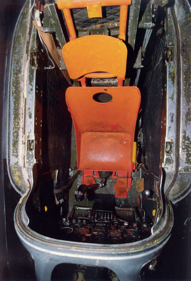 Bell X-1B cockpit. Photo: U.S. Air Force