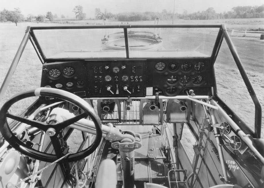 Keystone B-6A cockpit. Photo: U.S. Air Force