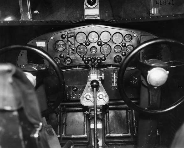 Ford C-4A cockpit. Photo: U.S. Air Force