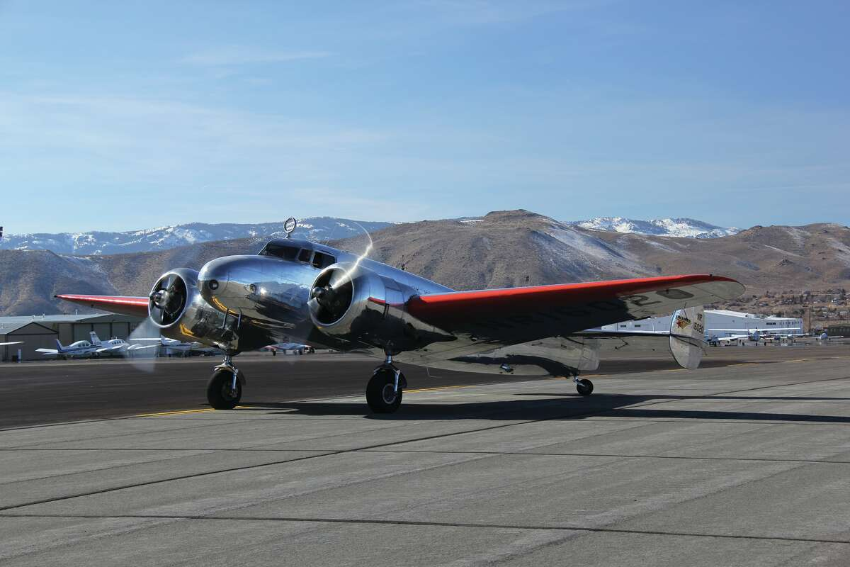 The Museum of Flight's new Lockheed Model 10-E Electra. It the same type of plane Amelia Earhart was flying on her ill-fated attempt to fly around the world in 1937.