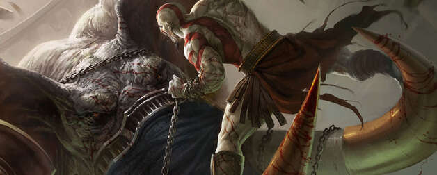 "Kratos begins his quest for vengeance in the origin story ""God of War: Ascension"""