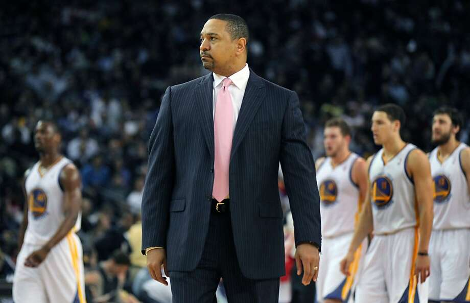 Golden State Warriors head coach Mark Jackson calls a time-out during the second half of their NBA basketball game against the Houston Rockets Tuesday, February 13, 2013. In Oakland Calif. Rockets win 116 to 107 Photo: Lance Iversen, The Chronicle