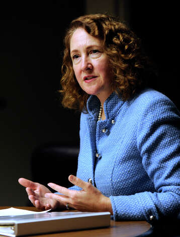 U.S. Rep. Elisabeth Esty, D-5th, meets with The News-Times editorial board, Friday, March 8, 2013. Photo: Carol Kaliff / The News-Times