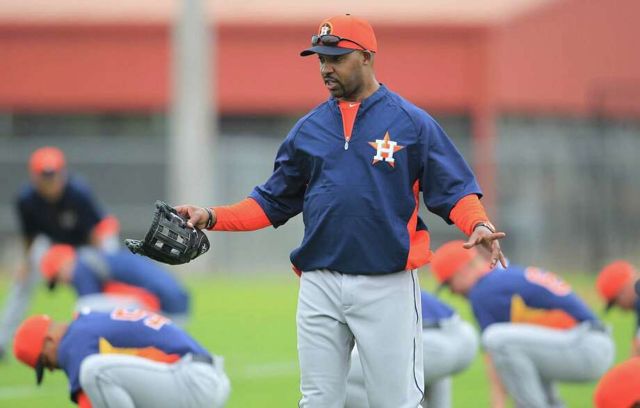 Astros first-year manager Bo Porter is proving that communication skills are in his wheelhouse. Photo: Karen Warren, Staff / © 2013 Houston Chronicle