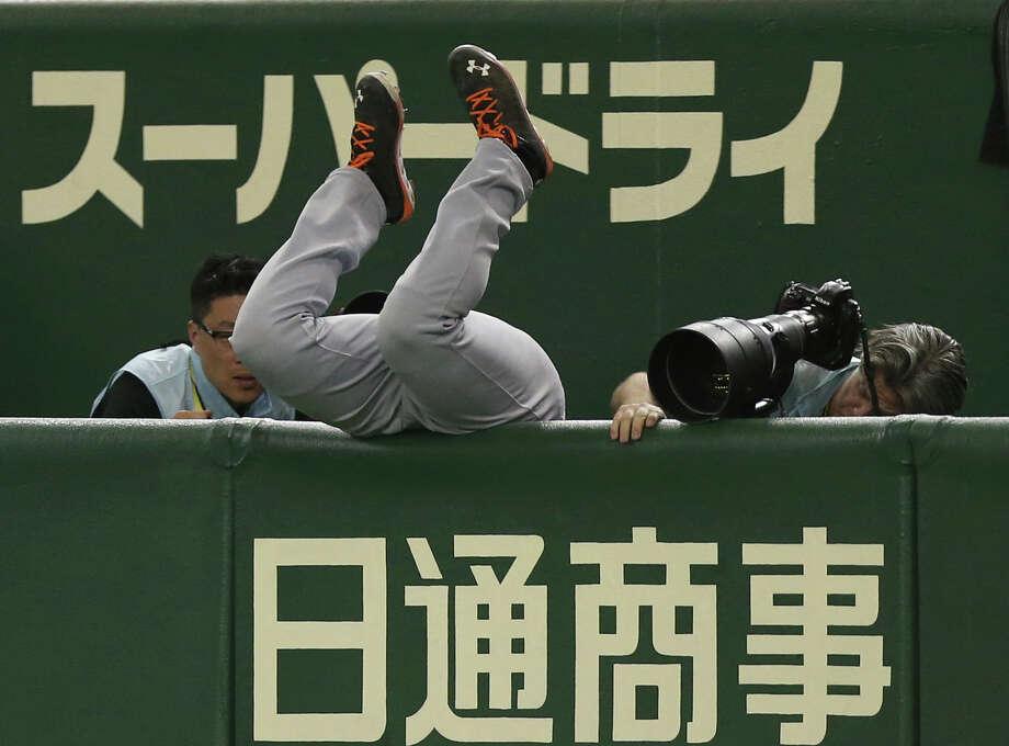 The 2013 World Baseball Classic at Tokyo Dome. Photo: Toru Takahashi, Associated Press / AP