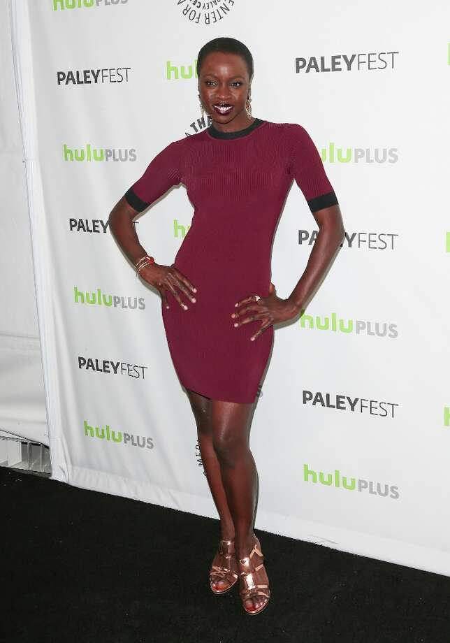 Actress Danai Gurira attends the 30th Annual PaleyFest featuring the cast of The Walking Dead at Saban Theatre on March 1, 2013 in Beverly Hills, California. Photo: Paul Archuleta, FilmMagic / 2013 Paul Archuleta