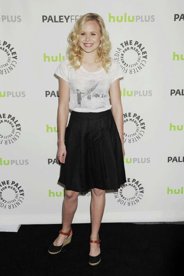 Alison Pill  arrives at the 30th Annual PaleyFest: The William S. Paley Television Festival featuring 'The Newsroom' at Saban Theatre on March 3, 2013 in Beverly Hills, California. Photo: Jeffrey Mayer, WireImage / 2013 Jeffrey Mayer
