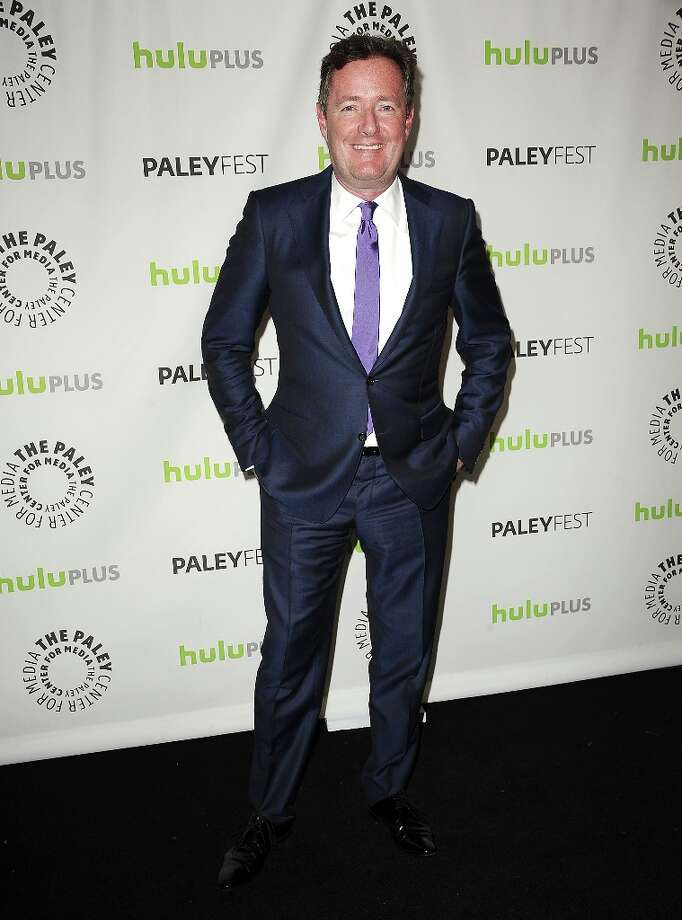 Moderator Piers Morgan attends the 30th annual PaleyFest: The William S. Paley Television Festival featuring The Newsroom at Saban Theatre on March 3, 2013 in Beverly Hills, California. Photo: Jason LaVeris, FilmMagic / 2013 Jason LaVeris