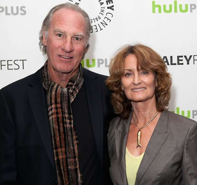 Craig T. Nelson (L) and his wife arrive for the 30th Annual PaleyFest: The William S. Paley Televisi