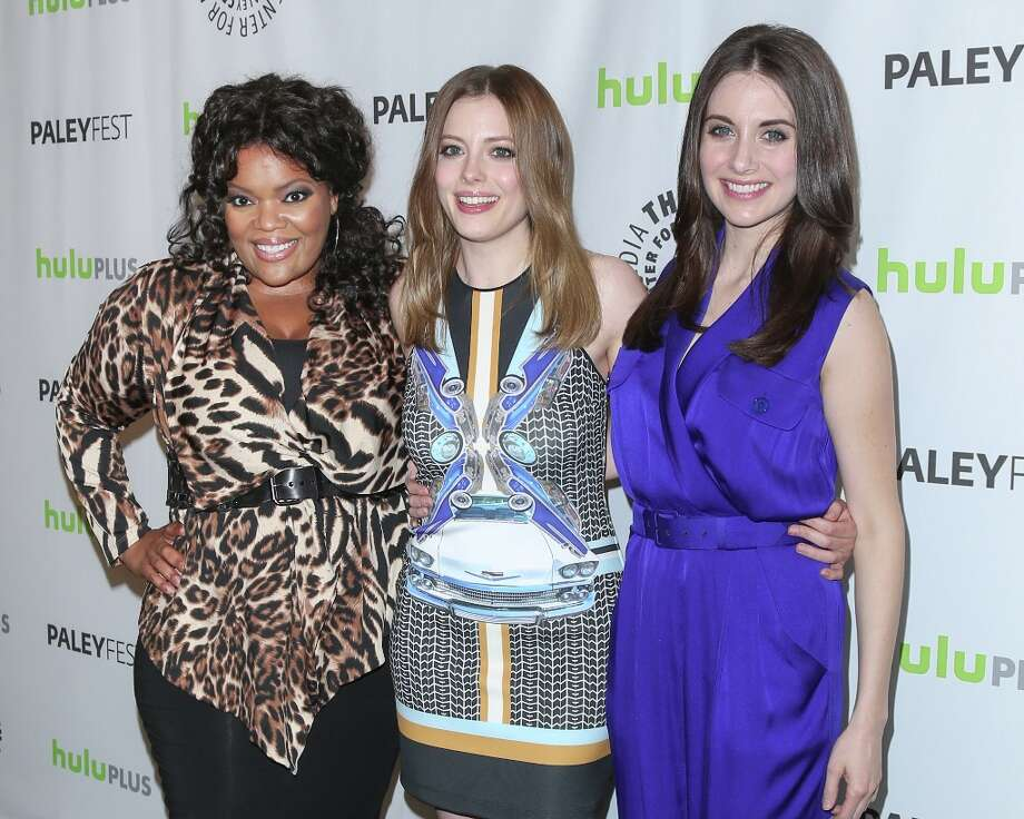 (L-R) Actors Yvette Nicole Brown, Gillian Jacobs and Alison Brie attend the 30th annual PaleyFest featuring the cast of Community at the Saban Theatre on March 5, 2013 in Beverly Hills, California. Photo: Paul Archuleta, FilmMagic / 2013 Paul Archuleta