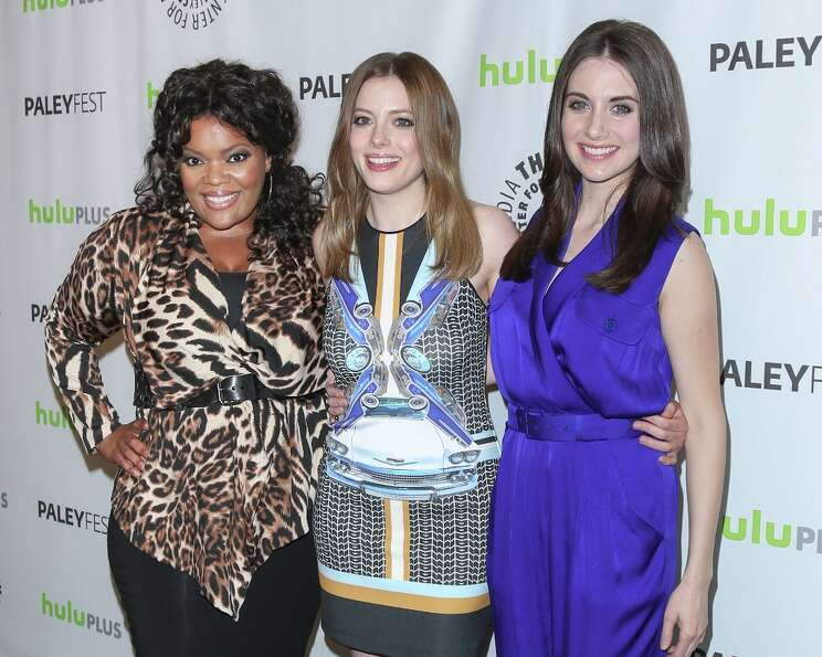 (L-R) Actors Yvette Nicole Brown, Gillian Jacobs and Alison Brie attend the 30th annual PaleyFest fe