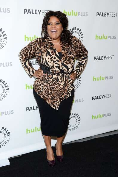 Actress Yvette Nicole Brown arrives at the William S. Paley Television Festival featuring Community