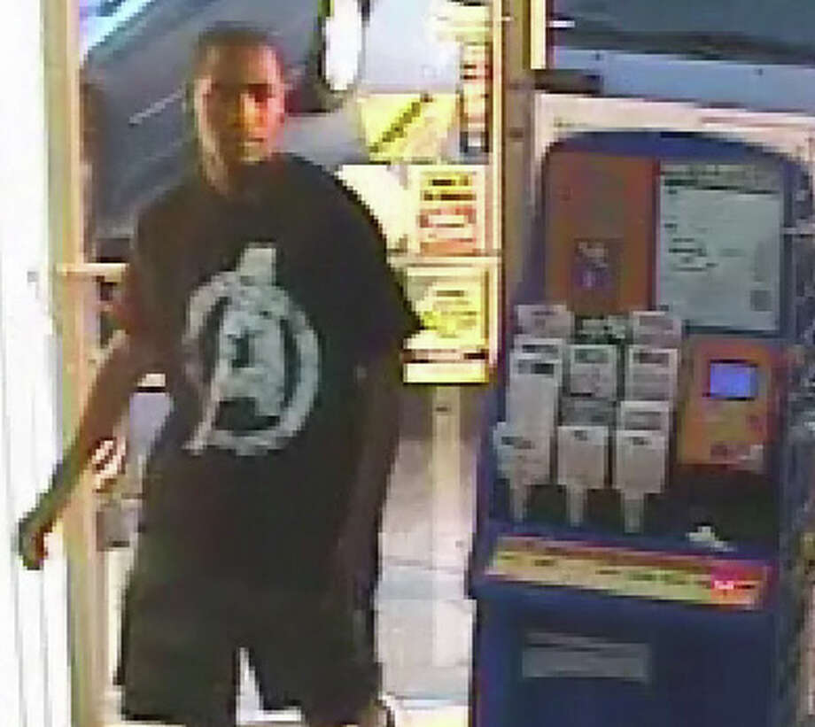 A surveillance image shows a suspect in the attack on the child. (Harris County Sheriff's Office)