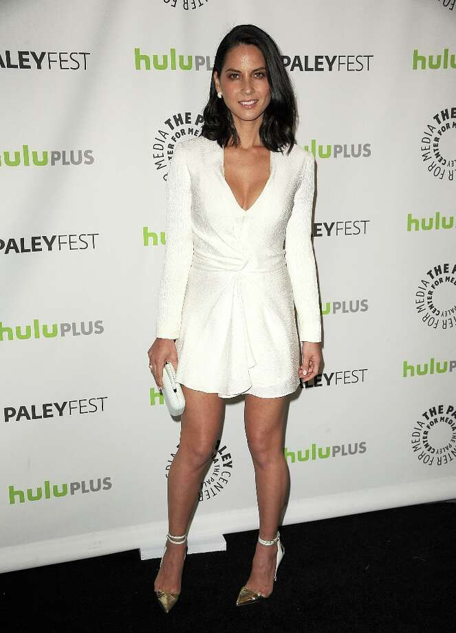 Actress Olivia Munn attends the 30th annual PaleyFest: The William S. Paley Television Festival featuring The Newsroom at Saban Theatre on March 3, 2013 in Beverly Hills, California. Photo: Jason LaVeris, FilmMagic / 2013 Jason LaVeris