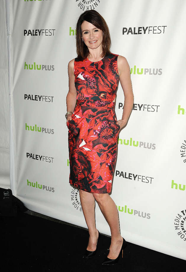 Actress Emily Mortimer attends the 30th annual PaleyFest: The William S. Paley Television Festival featuring The Newsroom at Saban Theatre on March 3, 2013 in Beverly Hills, California. Photo: Jason LaVeris, FilmMagic / 2013 Jason LaVeris