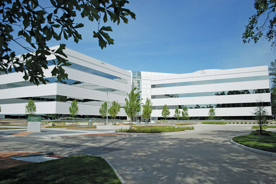 The Centre at Cypress Creek, a three-building office campus at 20455 Texas 249, is 93 percent occupied after a new lease by Spirit Environmental and a lease expansion by Westpark Communications. Photo: Courtesy Photo