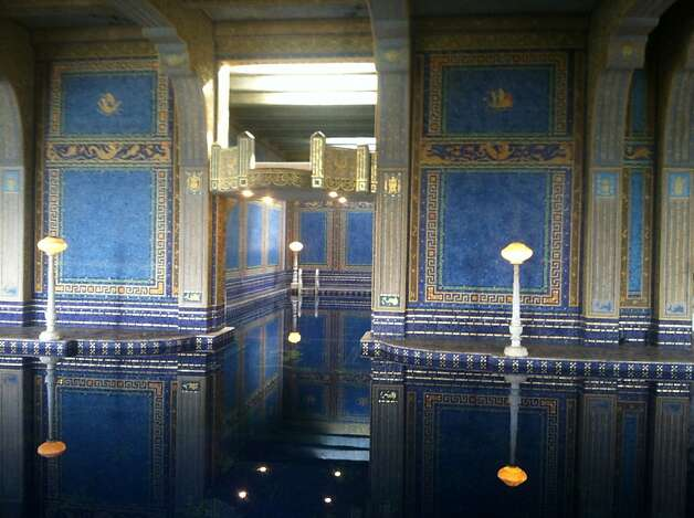 "Roman Pools at Hearst Castle. Documentary film ""Citizen Hearst"" made its West Coast premiere at Hearst Castle on Friday, March 8, as part of the San Luis Obispo International Film Festival. Starting Monday, March 11, the film, directed by Leslie Iwerks, will screen in select theaters nationwide. Details on screenings at www.citizenhearst.com. Photo: Maury Phillips/Hearst Corporation"