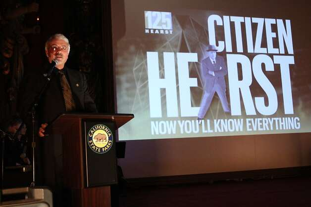 "Hearst Castle Museum Director Hoyt Fields. Documentary film ""Citizen Hearst"" made its West Coast premiere at Hearst Castle on Friday, March 8, as part of the San Luis Obispo International Film Festival. Starting Monday, March 11, the film, directed by Leslie Iwerks, will screen in select theaters nationwide. Details on screenings at www.citizenhearst.com. Photo: Maury Phillips/Hearst Corporation"