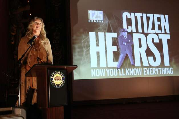 """Citizen Hearst"" director Leslie Iwerks won the Spotlight Award from the San Luis Obispo International Film Festival. Photo: Maury Phillips/Hearst Corp."