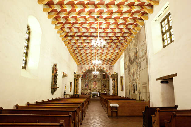 San Francisco de Asis, Mission Dolores, San Francisco, 1776 Photo: Richard Wong