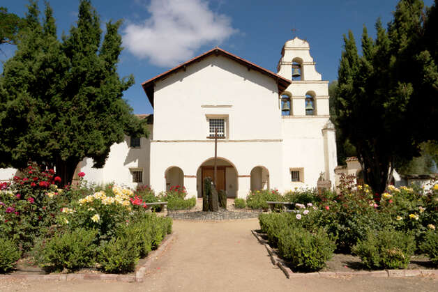 Mission San Juan Bautista, 1797 Photo: Richard Wong