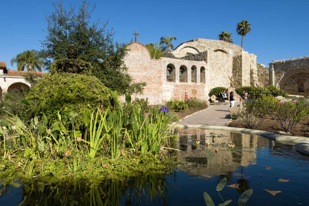 Mission San Juan Capistrano, 1776 Photo: Richard Wong