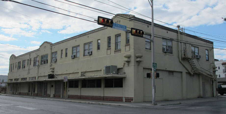 The former Oakland Pharmacy, 833 N. St. Mary's St., was constructed in 1920.