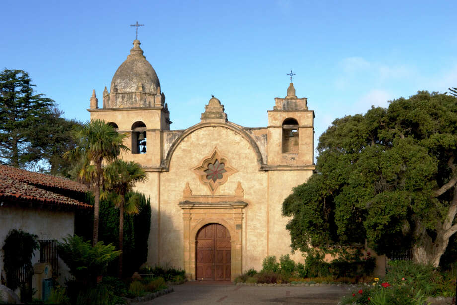 Mission San Carlos Borromeo de Carmelo, Carmel, 1770 Photo: Richard Wong