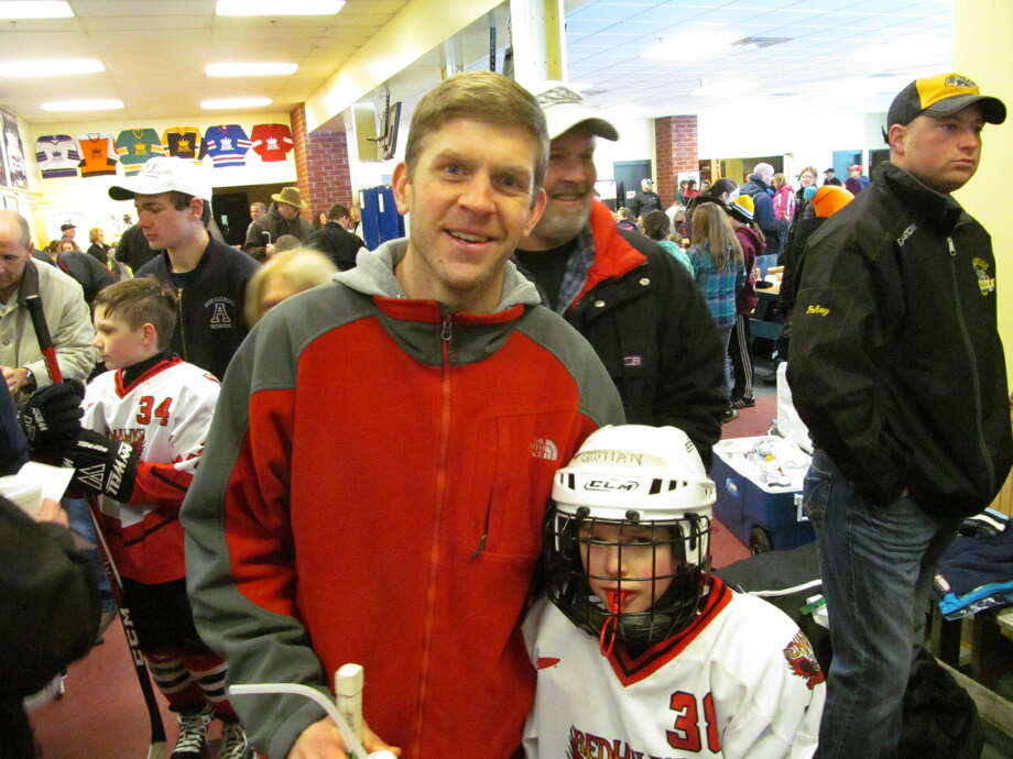 Were you Seen at the Clifton Park Youth Hockey Association's Mite Madness Jamboree, sponsored by the Albany Devils, at the Clifton Park Ice Arena on Saturday, March 9, 2013? Photo: Kristi Gustafson Barlette/Times Union