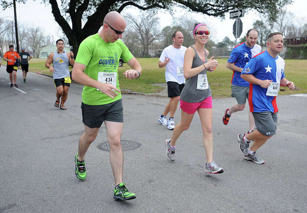 2013 Gusher Marathon Photo taken March 09, 2013 Guiseppe Barranco/The Enterprise Photo: Guiseppe Barranco, STAFF PHOTOGRAPHER / The Beaumont Enterprise