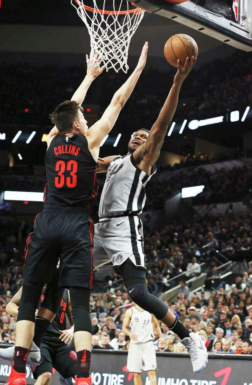 If San Antonio beats Dallas, Oklahoma City beats Houston but loses to Milwaukee, Denver wins at least once, Portland wins at least twice:(6) Spurs vs. (3) Trailblazers