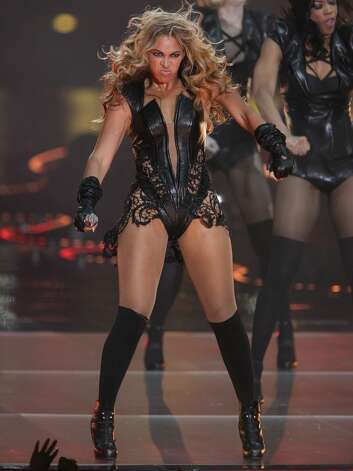 Sasha Fierce was mighty proud of Beyonce's Super Bowl halftime show face in 2013.