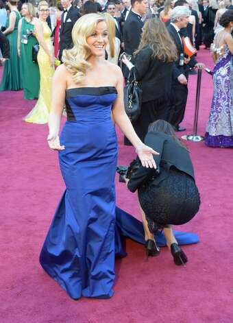 Or the dress. (Reese Witherspoon at the Academy Awards in 2013).