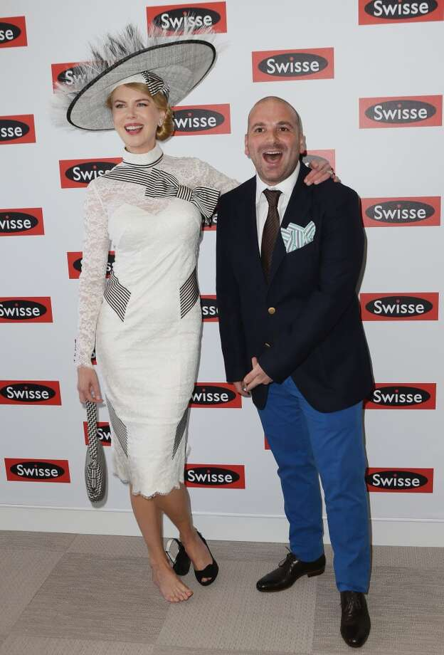 Until you decide you don't need both. (Nicole Kidman, with George Calombaris, 2012).