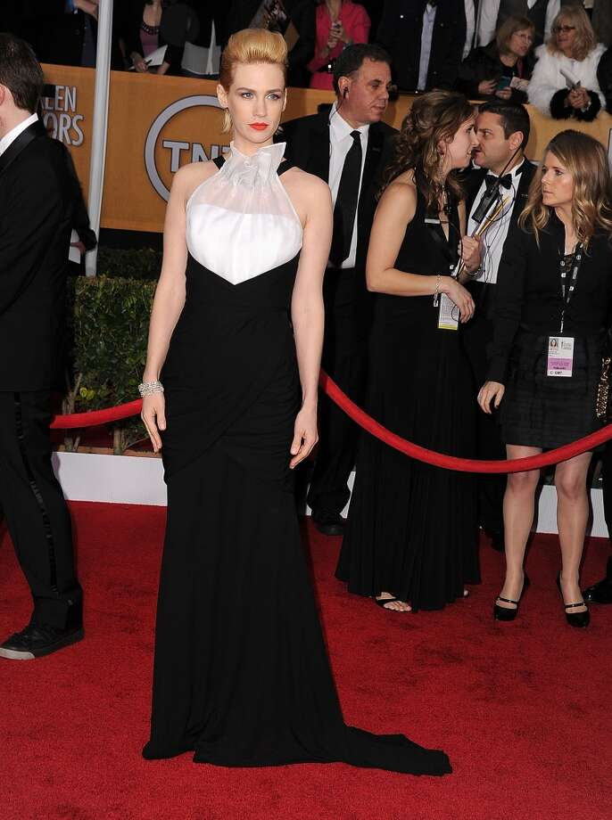 ''Take me to your leader.'' (January Jones, SAG Awards, 2013).