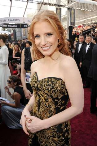 ''Down, thumb!'' (Jessica Chastain, Academy Awards, 2012).