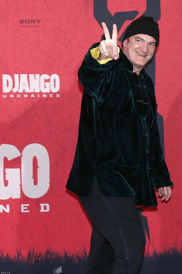 The peace sign rarely looks good on people who aren't teenagers or Asian pop stars. (Quentin Tarantino, 2013).