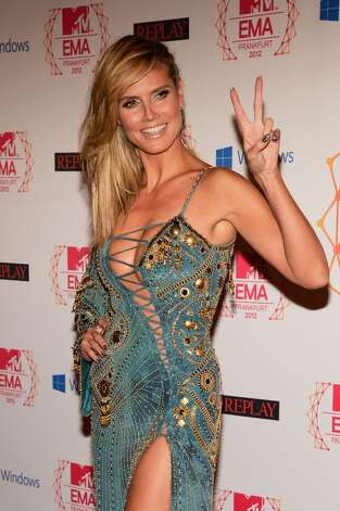 But skimpy clothes help divert your attention. (Heidi Klum, 2012).