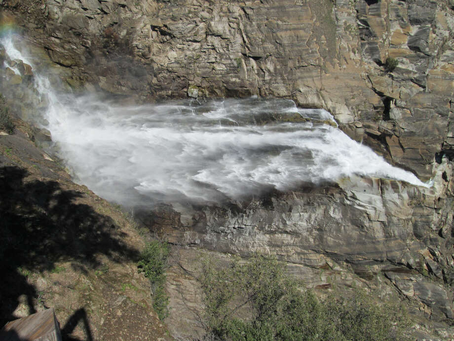 Full frontal of 410-foot Feather Falls