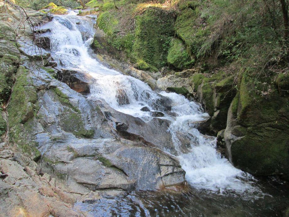 Pretty Frey Creek Falls