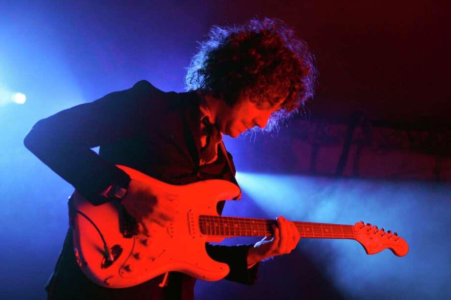 2006: Albert Hammond Jr. of The Strokes performs. Photo: Barry Brecheisen, WireImage / WireImage