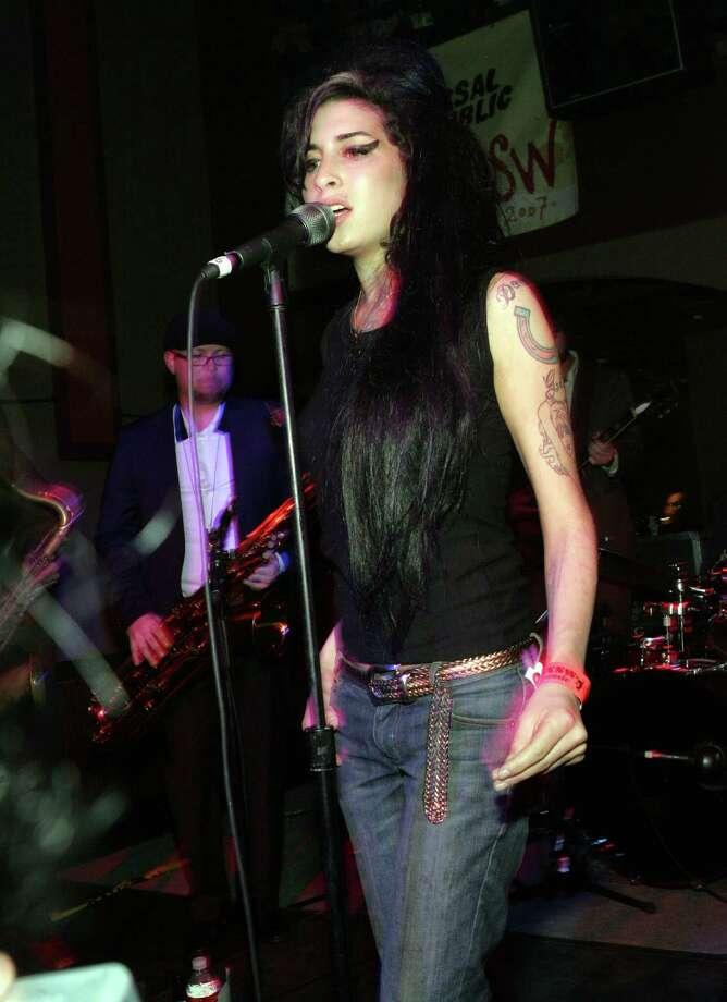 2007: Amy Winehouse performs. Photo: Barry Brecheisen, WireImage / WireImage