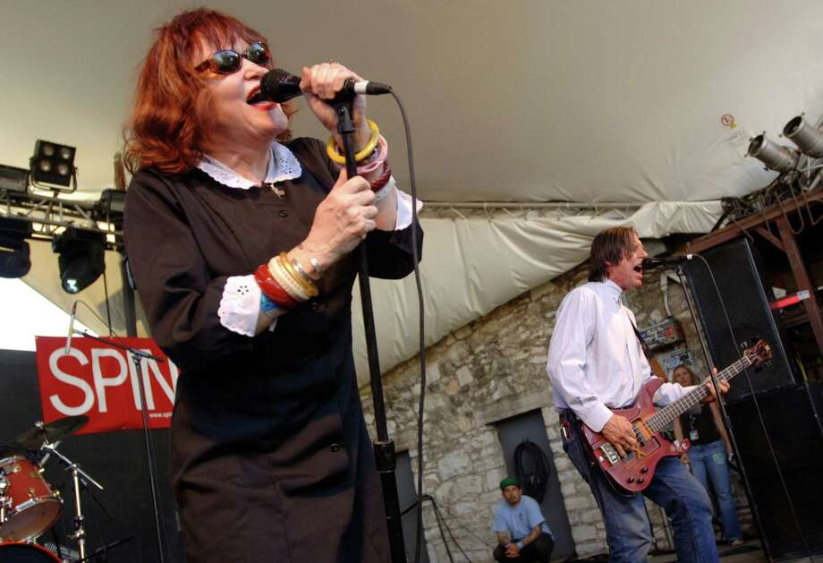 2008: Exene Cervenka (left) and John Doe of X perform. Photo: Tim Mosenfelder, Getty Images / 2008 Tim Mosenfelder