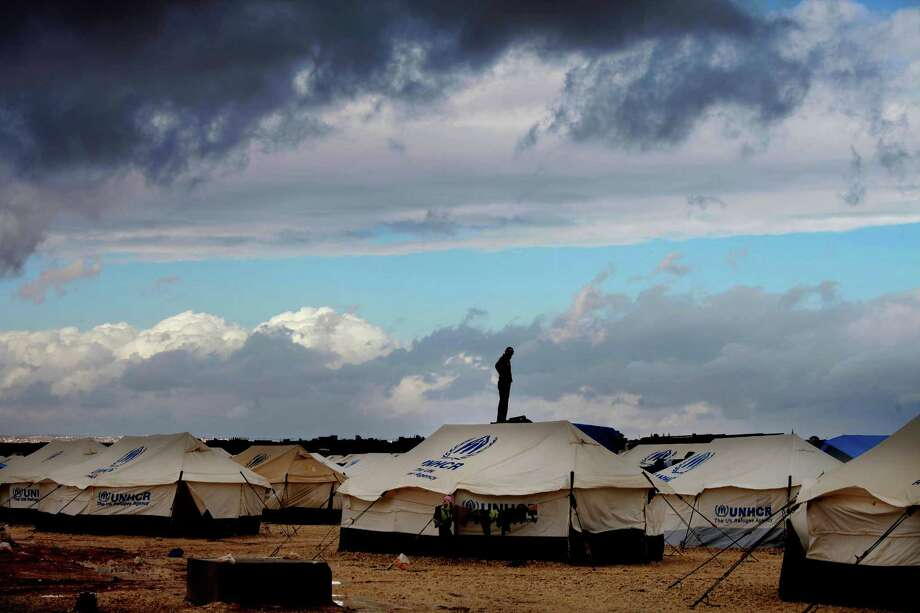 Dire conditions in the Zaatari refugee camp have pushed a significant number of women with little or no source of income into prostitution. Photo: Mohammad Hannon, STR / AP