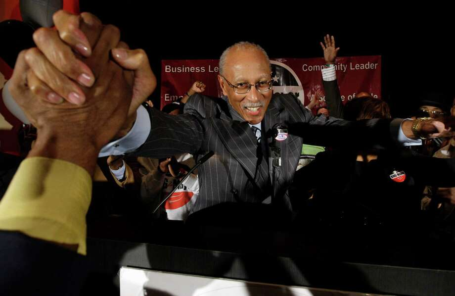 NBA great Dave Bing was triumphant in winning a special mayoral election in Detroit, but he has not been able to solve the city's problems and now agrees that stepping aside to allow state control is the best option. Photo: Paul Sancya, STF / AP